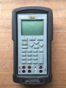 Martel Mc1200 Pressure Calibrator Temperature Thermocouple Rtd Mint Works Fine