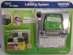 Brother P touch Labeling System Pt 1880c Office Equipment Label Maker