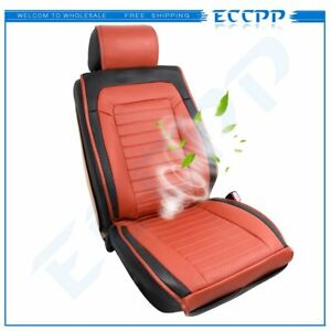 Pu Leather Car Auto Massage cooling Seat Cushion Cover Cooler For Porsche
