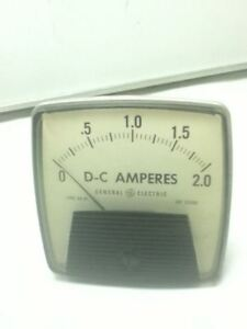 General Electric D0 91 Panel Meter 0 50dc