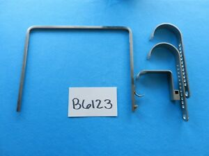Zimmer Surgical Orthopedic Charnley Hip Retractor Instruments