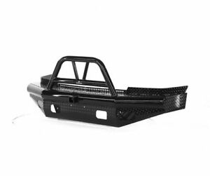 Ranch Hand Legend Bullnose Width Black Front Hd Bumper For 03 07 Silverado 2500