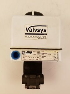 Valvsys Electric Actuator 1 2 Npt Industrial Automation