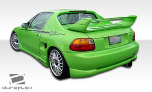 Duraflex Type M Rear Lip Under Spoiler Air Dam For 1993 1997 Honda Del Sol