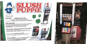 Slush Puppie Machine Only Used For A 1 Year
