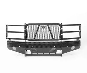 Ranch Hand Summit Width Tough Black Front Hd Bumper For 15 18 Silverado 2500hd