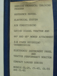 Ford Technical Service Training Program Reference Manuals
