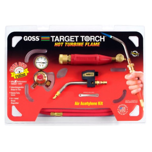 Goss Kx 10mc Soldering Brazing Torch Kit For Mc Acetylene Tanks Includes Ga 5l