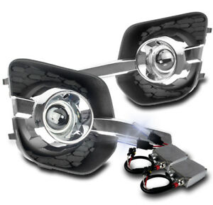 2010 2015 Chevy Equinox Chrome Bumper Driving Fog Lights 50w 8000k Xenon Hid Kit