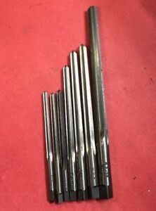 Pratt Whitney 0 6 Taper Pin Reamer Set Machinist Tool Box Find Mill Lathe Repair