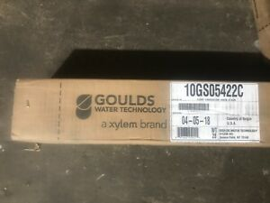 10cs15422c Goulds 10gpm 1 5hp Submersible Water Well Pump W 230v 2 Wire Motor