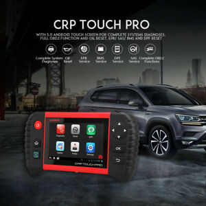 Launch X431 Crp Touch Pro Obd2 Obdii Car Diagnostic Scanner Tool Epb Sas Dpf Srs