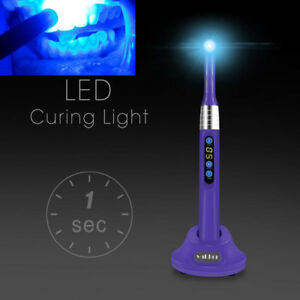 Purple Vakker Dental Led Curing Light 1 Second Cure Lamp 2000mw c Gilbertmall