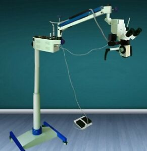 New Dental Microscope 5 Step Approved By Mars With Led Light