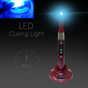 Red Vakker Dental Led Curing Light 1 Second Cure Lamp 2000mw c Gilbertmall