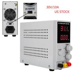 Us 110v 220v Digital Switching Dc Power Supply Precision Variable Adjustable Lab
