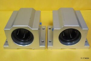 Two 2 Nb Linear Systems Twa24uu 1 1 2 Inch Ball Bushing Block Linear Motion