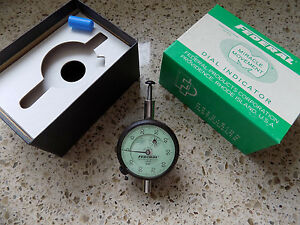 Dial Indicator Federal C8iq 001 Usa Shop Machinist Inspection Lath Tool Cnc