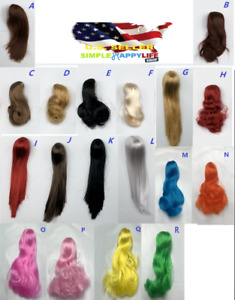 1 6 Scale Woman Hair Wig 3.0 NEW Multi Colors For 12quot; Female Head Sculpt ❶USA❶ $11.76