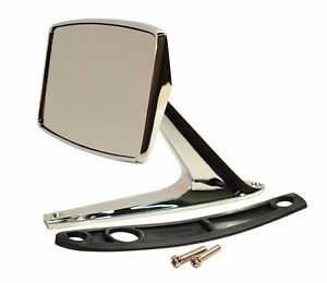 1967 1968 Ford Mustang Standard Outside Mirror Fits Left Or Right Side