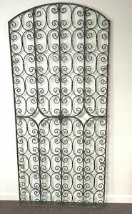 Vintage Architectural Salvage Forged Wrought Copper Gate Door