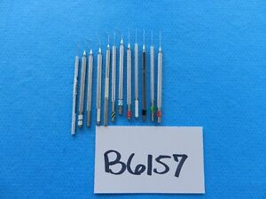 Msi Millennium V Mueller Surgical Ophthalmic Instruments Lot Of 12