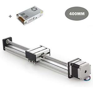 400mm Travel Length Linear Stage Actuator Diy Cnc Router Parts X Free Shipping