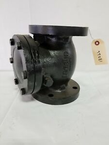 Legend T 311 125 Flanged 3 Swing Cast Iron Check Valve