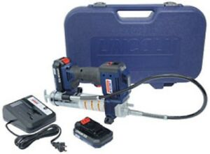 Lincoln Industrial 1884 20v Lithium ion Battery Operated Grease Gun dual Battery