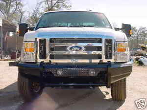New Ranch Style Front Bumper 08 09 10 Ford F250 F350 2008 2009 2010 Super Duty