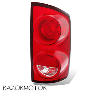 2007 2008 09 Right Replacement Tail Light Housing For Dodge Ram 1500 2500 3500