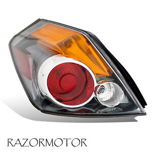 2007 2012 Driver Replacement Tail Light For Nissan Altima Sedan 4 Door W Bulb