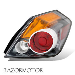 2007 2012 Passenger Replacement Tail Light For Nissan Altima Sedan 4 Door W Bulb