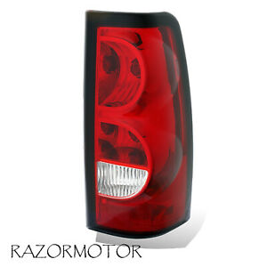 2003 2006 Passenger Replacement Tail Light For Chevy Silverado W Bulb Harness