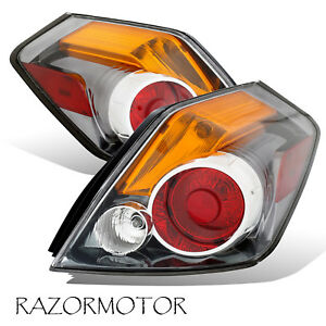 2007 2012 Replacement Tail Light For Nissan Altima Sedan 4 Door pair W bulb