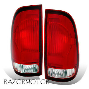 1997 2003 Replacement Tail Light For Ford F150 99 07 F250 F350 Superduty Pair