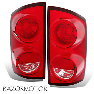 2007 2008 2009 Replacement Tail Lights For Dodge Ram 1500 2500 3500 Pair