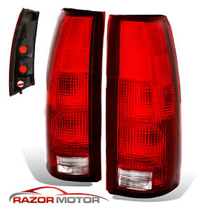 88 99 Replacement Tail Light Set For Chevy Gmc Silverado Tahoe Sierra Yukon Pair