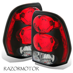 2002 2009 Replacement Tail Lights Set For Chevy Trailblazer W circuit Board