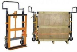 Dolly Hand Operated Hydraulic Furniture Equipment Moving Pair 3950 Lb Capacity