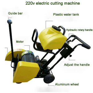 Cutting Machine Power Engine Walk Behind Floor Concrete Cement 14 Cut Off