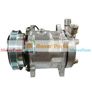 Air Conditioning Compressor 87649991 For Case Loader 420 430 435 440 445 450 465