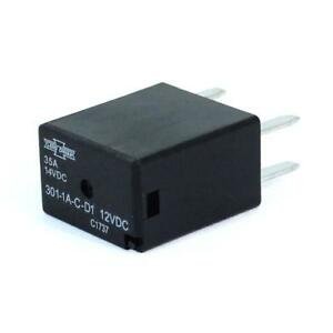 2pk Song Chuan Iso 280 Micro Relay 35a 12v spst With Diode 301 1a c d1 12vdc