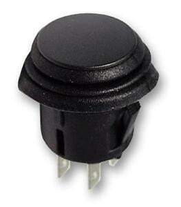 2pk 20a On off Switch Push Button Black 4p Dpst On off 14vdc