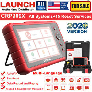 Launch Crp429 Obd2 Can Key Program Fault Code Reader Tool Diagnostic Scanner Epb