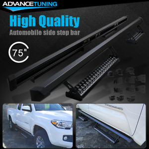 Fits 16 19 Toyota Tacoma Access Cab Pro Oe Style Side Steps Running Boards