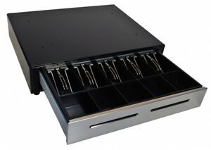 M s Electronic Cash Drawer Ep 125k Sd Stainless Steel Front Lockable