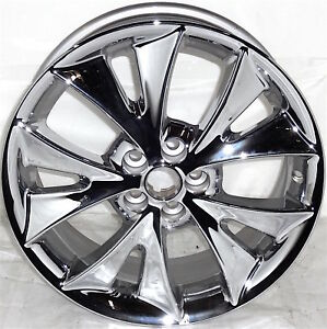 2005 2007 Pontiac Vibe 17 Wheel Oem Factory Aluminum Rim Chrome 6623 Set Of 4