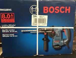 Bosch 8 Amp 1 1 8 In Sds plus Variable Speed Rotary Hammer Drill