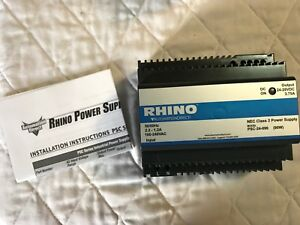 Psc 24 090 Automation Direct Rhino Switching Power Supply 24 Vdc